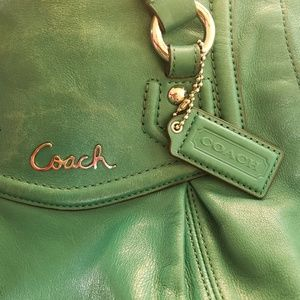 Coach Bags - 🌿Coach Teal Ashley Satchel Bag🌿